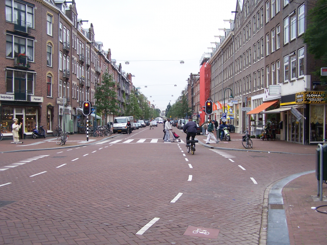 Spaarndammerstraat in opkomst
